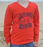 Jongens Shirt lange mouw Racing Red - California